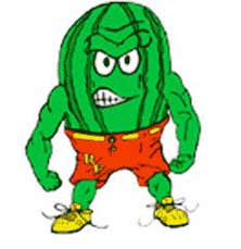 Rocky Ford's mascot.