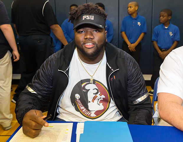 Marvin Wilson surprised many by picking Florida State over LSU.