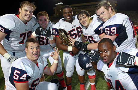Allen's big win against Mesquite took the Eagles from No. 4 to No. 2 in this week's South rankings.