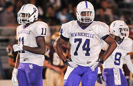 New Rochelle rode its win against Orchard Park all the way to the No. 9 ranking in the Northeast.