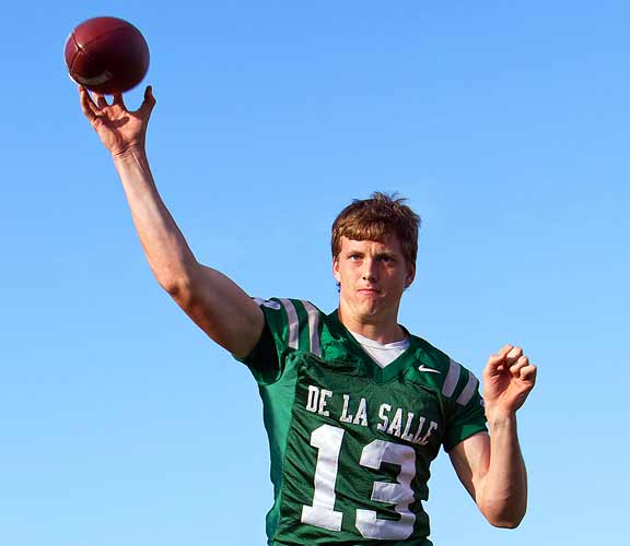 Bart Houston is one of the best signal-callers De La Salle has had in a decade.