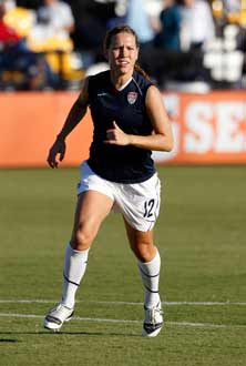 Ben Davis (Indianapolis) alum LaurenCheney scored Tuesday to help theUnited States to a 2-0 victory.