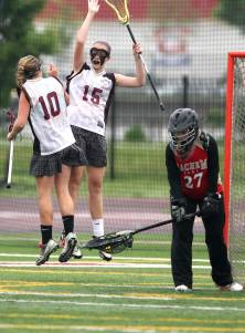 No. 8 Bay Shore had reason to leap andcelebrate against Farmingdale over theweekend.