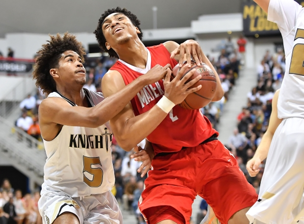Bishop Montgomery's Ethan Thompson defends Justice Sueing of Mater Dei.