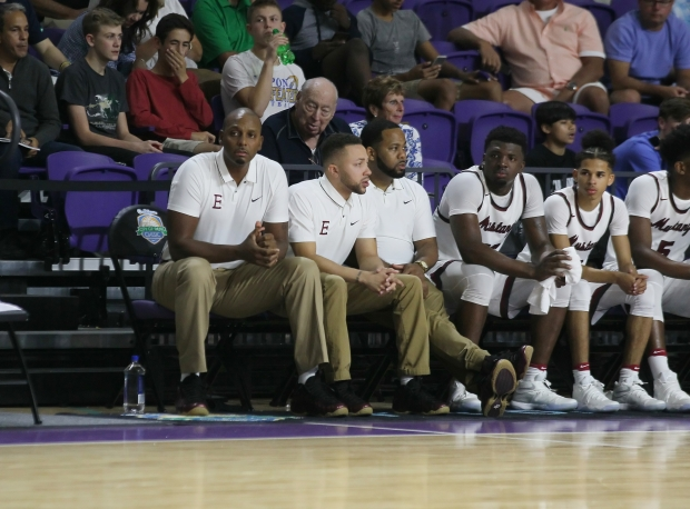 Penny Hardaway (far left) is proving he is no novelty act as a high school basketball coach, knocking off Kevin Boyle and Montverde Academy over the weekend.