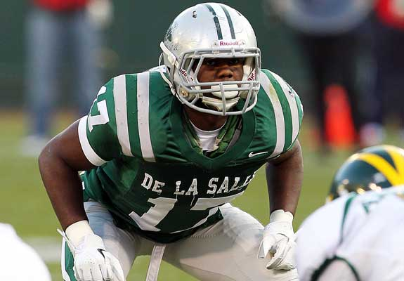 Michael Hutchings will make sure De La Salle's defense is among the nation's best.