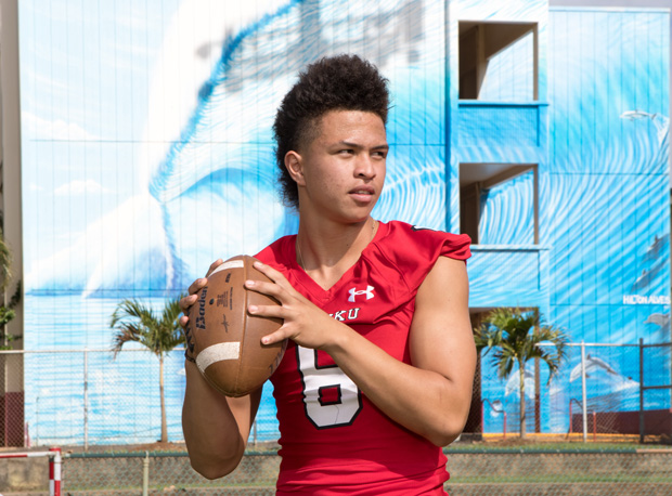 Sophomore quarterback Sol-Jay Maiava is a big name to keep tabs on from the islands.