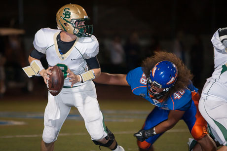 St. Bonaventure and quarterback Ricky Town are the top seed in the Pac-5 Playoffs.