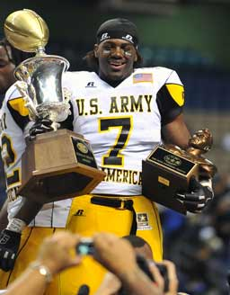 U.S. Army All-American Game MVP Ronald Powell begins his first fall camp at Florida Thursday.