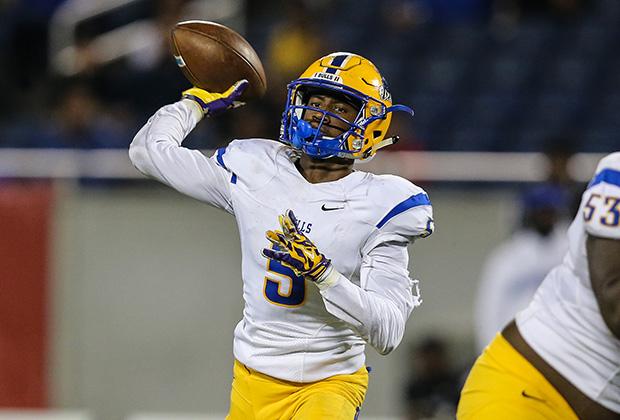 "Northwestern quarterback Chartarius ""Tutu"" Atwell Jr. accounted for two touchdowns."