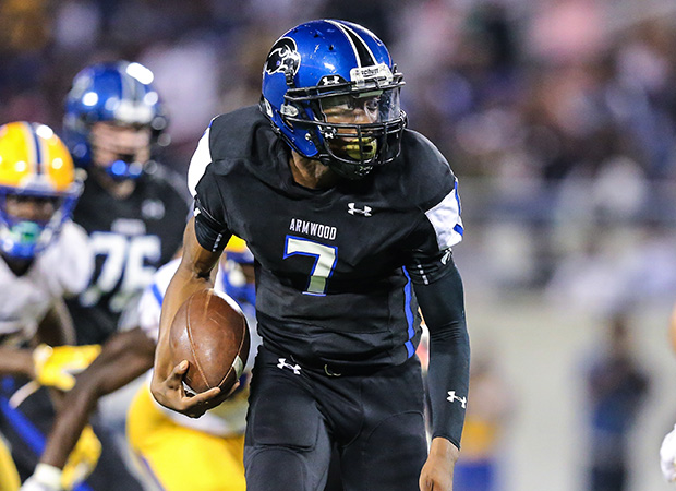 Armwood quarterback Devin Black had two touchdowns in the loss.