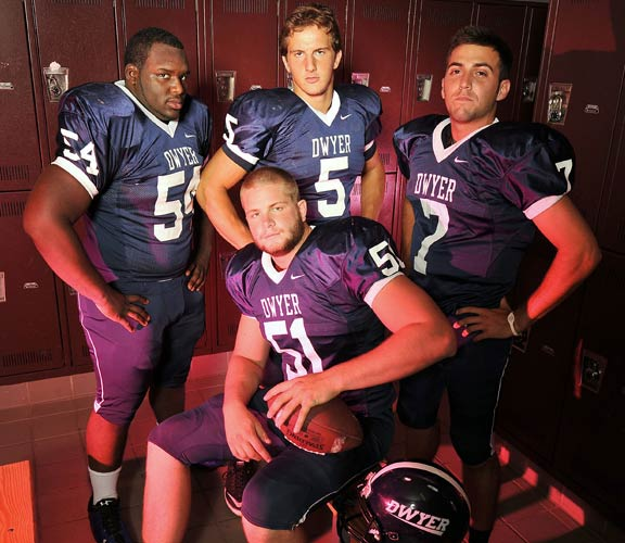 Dwyer has strong senior leadership to go along with top-notch young talent.