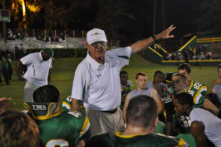 John McKissick is entering his 60th season as the Summerville head coach. That's the standard for longevity in high school, college and professional football.