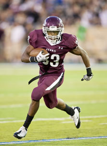 Trey'Vonne Barr'e tied the game for Jenks at 13-13 on a 1-yard TD plunge.