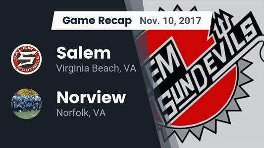 Football Game Preview: Salem vs. Nansemond River