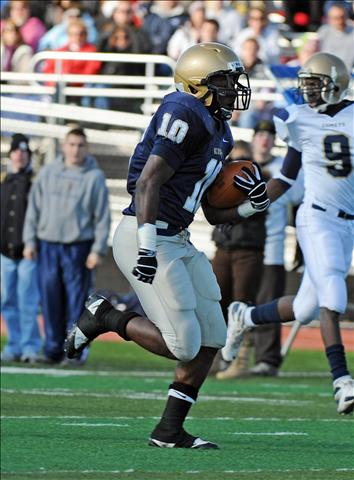 Jameel Poteat is having a monstrous junior season for undefeated Bishop McDevitt.