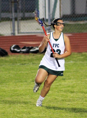 Club lacrosse has helped Trecki develop her skills to a higher level.