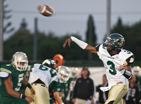Narbonne senior Troy Williams is the 11th-ranked combo quarterback in the country by MaxPreps. He hopes to lead his Los Angeles City squad to a landmark win over Long Beach Poly tonight.