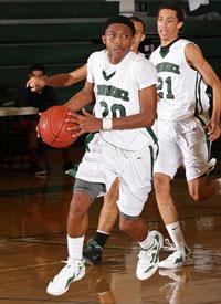 Marcus LoVett Jr. in action.