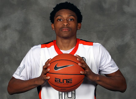 Marcus LoVett Jr. scored 57 points in his sixth varsity game last December, averaging over 32 points per game for the season.