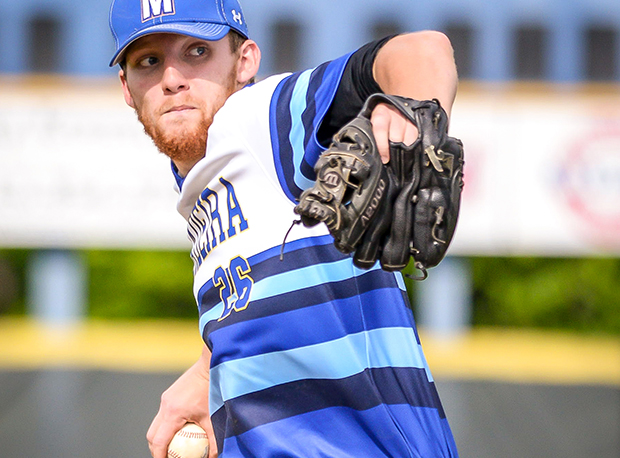 Madeira pitcher Sam Wirsing is up for this week's award after picking up a win over Summit Country Day in a D-III sectional final.
