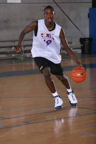Michael Gilchrist during a recent practice.