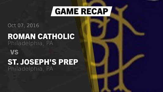 Football Game Preview: Roxborough vs. Roman Catholic