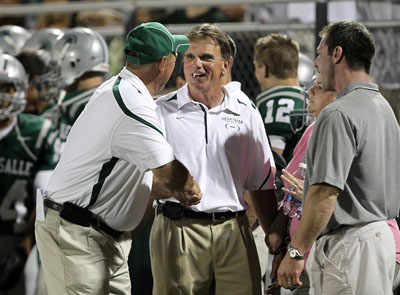Ladouceur and Spartans thrilled with hard-fought win.