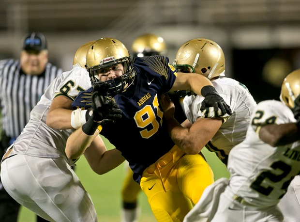 Nick Bosa was a key cog in St. Thomas Aquinas' state championship as a freshman last year. Ninth graders are making an increasingly large impact on the varsity level at the nation's top programs.