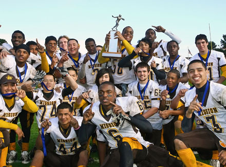Mission won its first San Francisco Section title since 1954.