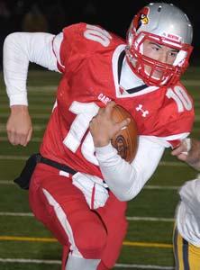 Mentor quarterback Mitch Trubisky.
