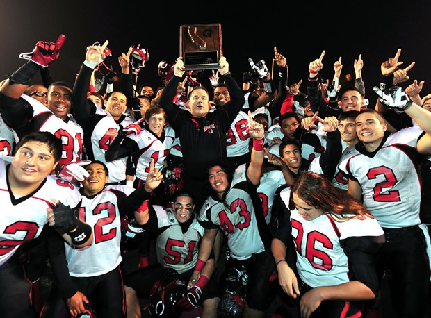 Centennial was selected for the Open Division last season and beat Narbonne to make it to the state title game.