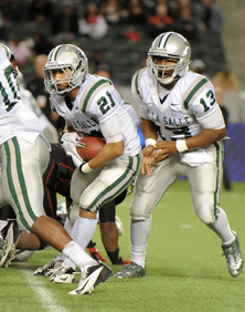 With the duo of running back Das Tautalatasi (21) and quarterback Chris Williams (13) returning, DLS should be set in the backfield.