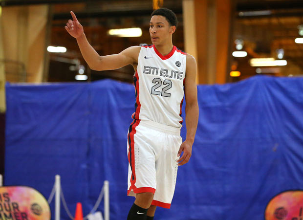 Ben Simmons did a lot of everything leading his AAU squad to a 3-0 record at the Nike EYBL Session One in Sacramento last weekend.