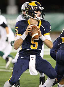 Oak Ridge quarterback Jason Samuels had two touchdown passes.