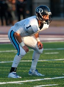Bellarmine receiver-defensive back Austin Changras scored an overtime touchdown.