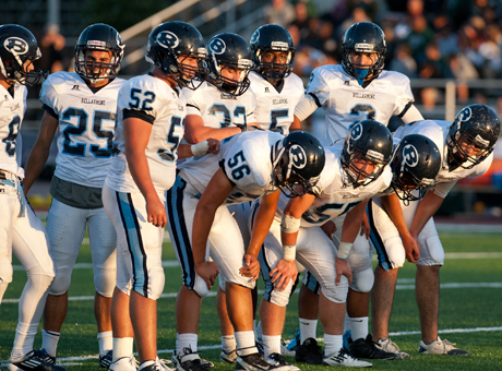 Bellarmine is still king of the West Catholic Athletic League for now after a fantastic 35-34 overtime win at Serra Saturday afternoon. K.J. Carta-Samuels accounted for four touchdowns but it was Bellarmine's defense and special teams that ultimate made the two biggest plays.