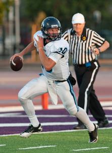 Bellarmine quarterback K.J.  Carta-Samuels didn't take a  varsity snap until this season.
