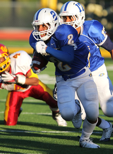 Serra's Eric Redwood scored four touchdowns but couldn't get home on the last play of the game.