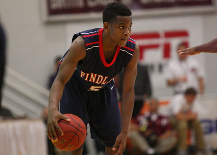 Dominic Artis scored 21 points, handed out eight assists and grabbed seven rebounds in Findlay Prep's 75-50 win over Simeon.