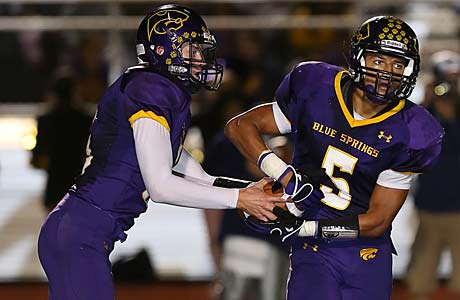 Blue Springs is one of two Missouri teams to enter this week's Southwest rankings.