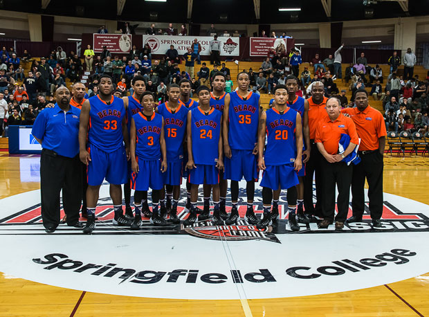 Rainier Beach, shown here following a win at the Spalding Hoophall Classic in January, captured its third state title in a row and eighth since 1988 over the weekend.