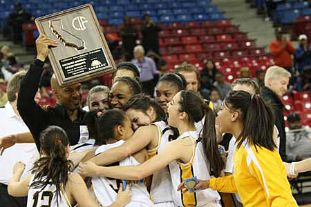 Bishop O'Dowd celebrates its first and elusive first NorCal title.