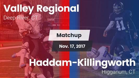 Football Game Recap: Haddam-Killingworth vs. Valley Regional/Old Lyme