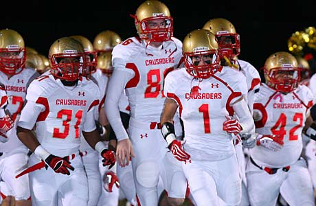 Bergen Catholic pulled off an upset of Don Bosco Prep to move up to the No. 2 position in the Northeast rankings.