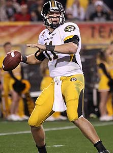 Blaine Gabbert played at Parkway West High School before starring at the  University of Missouri.