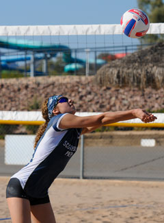 As a Title IX factor, girls sand volleyballcould take hold in other states aside fromArizona.