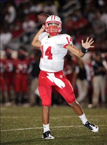 Brooks Haack returns at quarterback for Katy.
