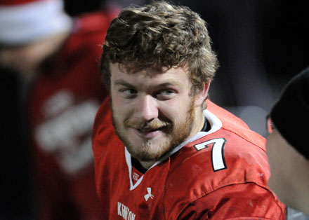 Maty Mauk enjoyed every record-breaking minute of his final game at Robinson Field.