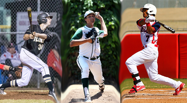 (Left to right) Kyle Tucker, Justin Hooper and Kyler Murray all expect to hear their names called early in the 2015 MLB Draft.